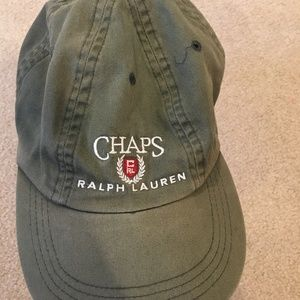 Vintage Ralph Lauren Chaps army green cap
